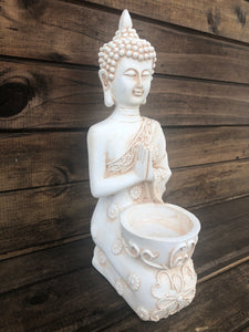 Thai Style Buddha - candle holder - 19 cm
