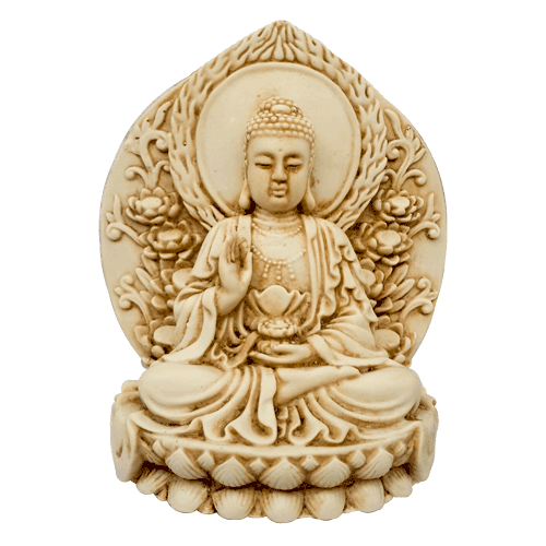 Buddha 11cm Japanese Style Lotus - Soul Array - South Africa