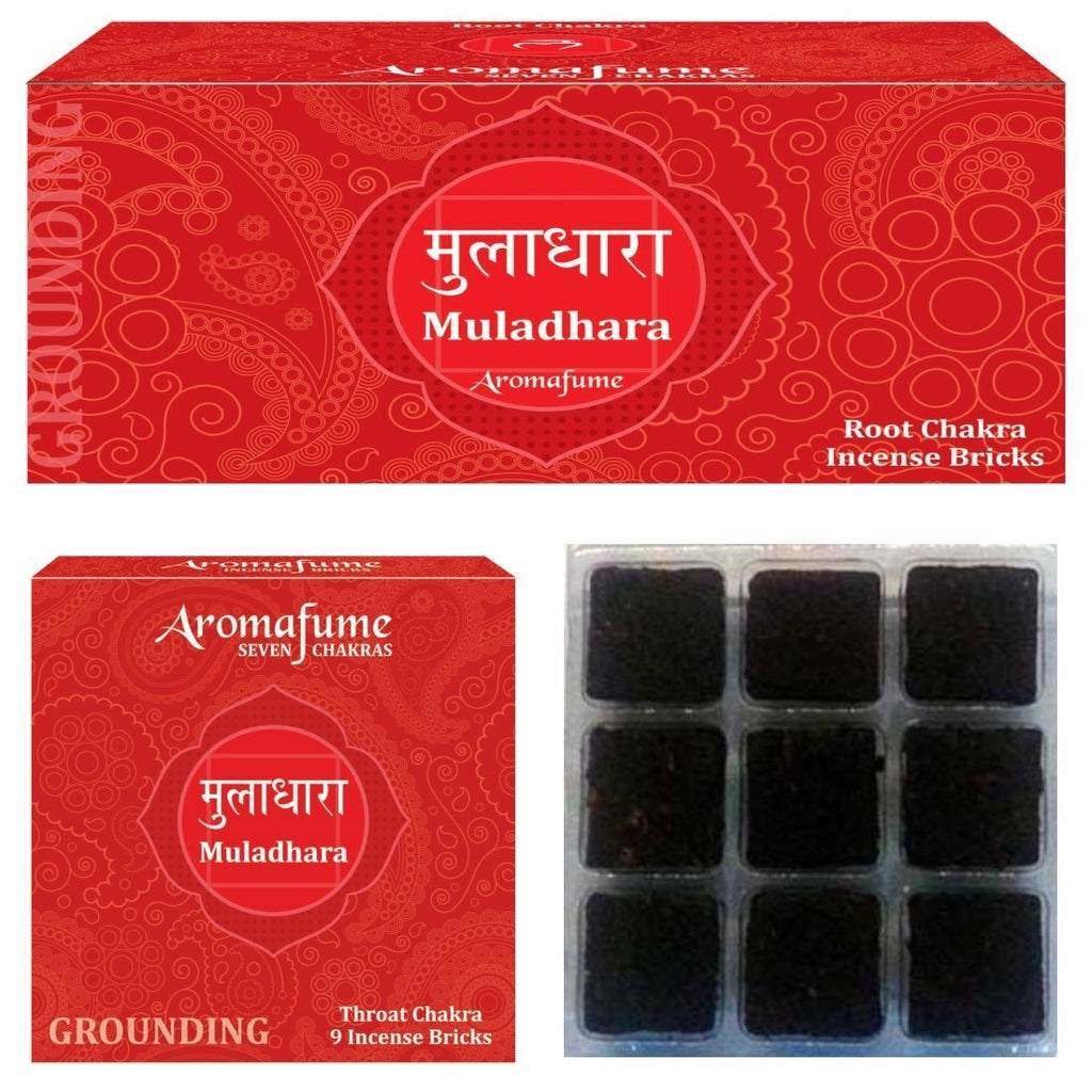 Muladhara - Root Chakra - Exotic Incense Bricks