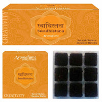 Swadhistana - Sacral Chakra - Exotic Incense Bricks