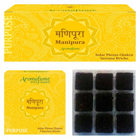 Manipura - Solar Plexus Chakra - Exotic Incense Bricks
