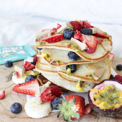 Wildbag superfood protein blends white chocolate pancake