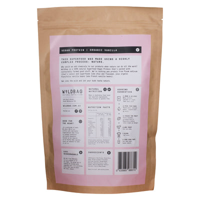 Wildbag Raw Superfood Vegan Protein - Organic Vanilla