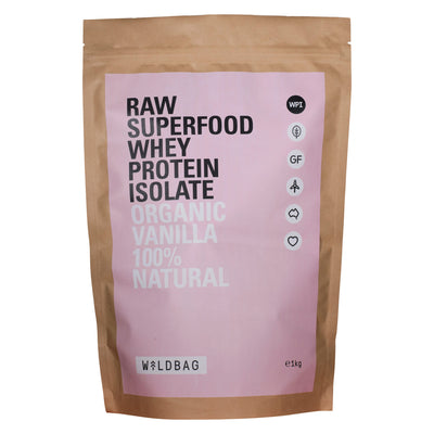 Wildbag Raw Superfood Whey Protein Isolate - Organic Vanilla