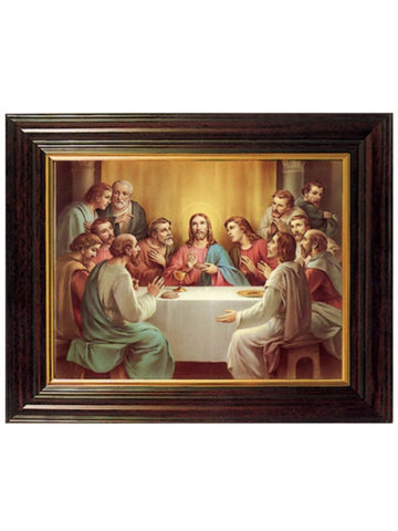 Last Supper Framed Picture