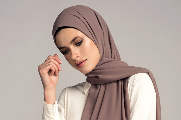 4 Easy Hijab Tutorials Using Non-Slip Chiffon!