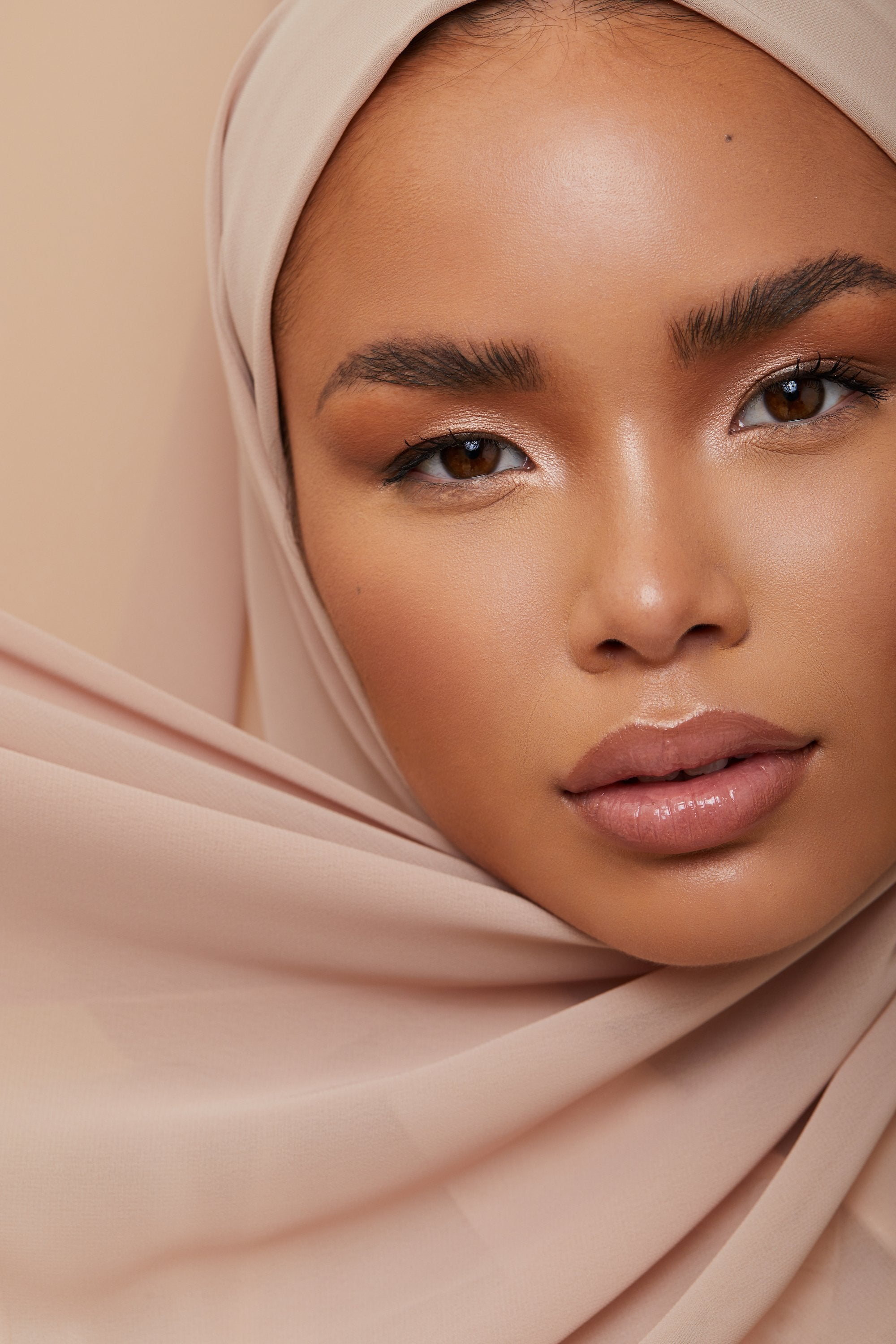 LUXURY TURKISH COTTON NUDE LAVENDER - GESSO Collection Hijabs