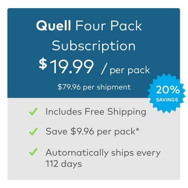 Quell Sport Electrodes, Four Pack
