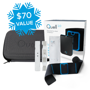 Quell 2.0 Starter Kit Bundle (Free Gift with Purchase $70 Savings) – Smartphone Required
