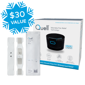 Quell Classic Starter Kit Bundle (Free Gift with Purchase $30 Savings) - Smartphone Optional