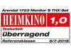 Arendal Sound 1723 S 5.1 System review - Heimkino