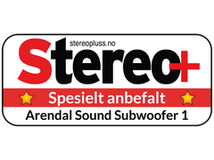 Arendal Sound 1723 Subwoofer 1, Stereo+