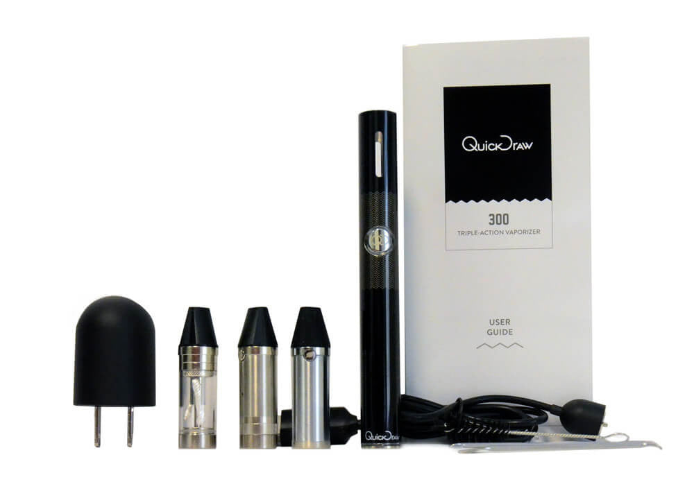 Quickdraw Quickdraw 300 DLX 3 in 1 Vaporizer Multi Function - Vaporizer Vendor