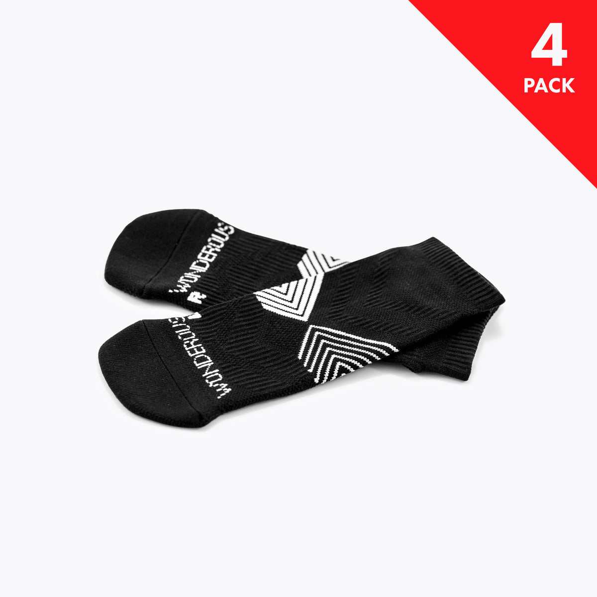 [ 4 Pack ] Athletic Socks