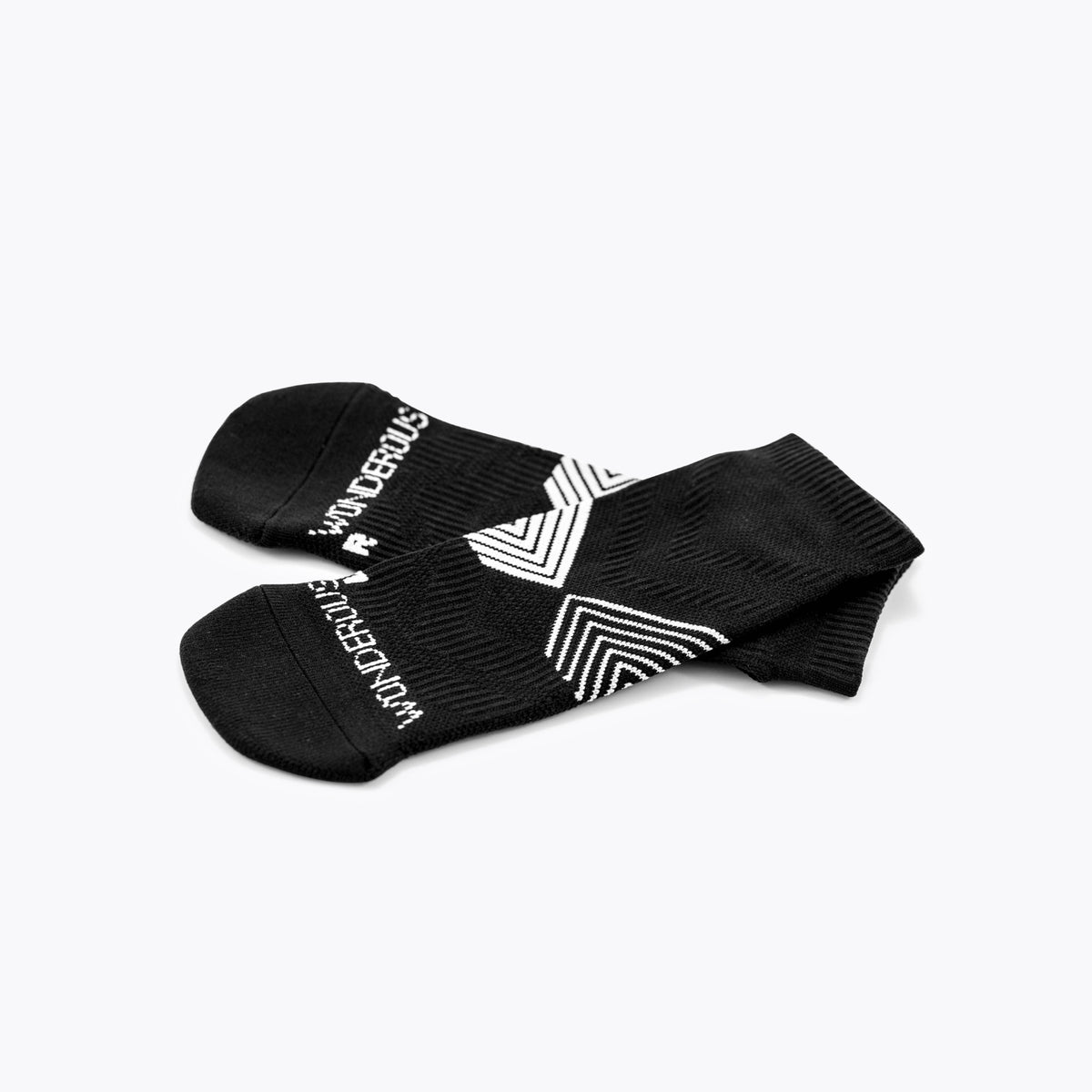 Athletic Black Socks