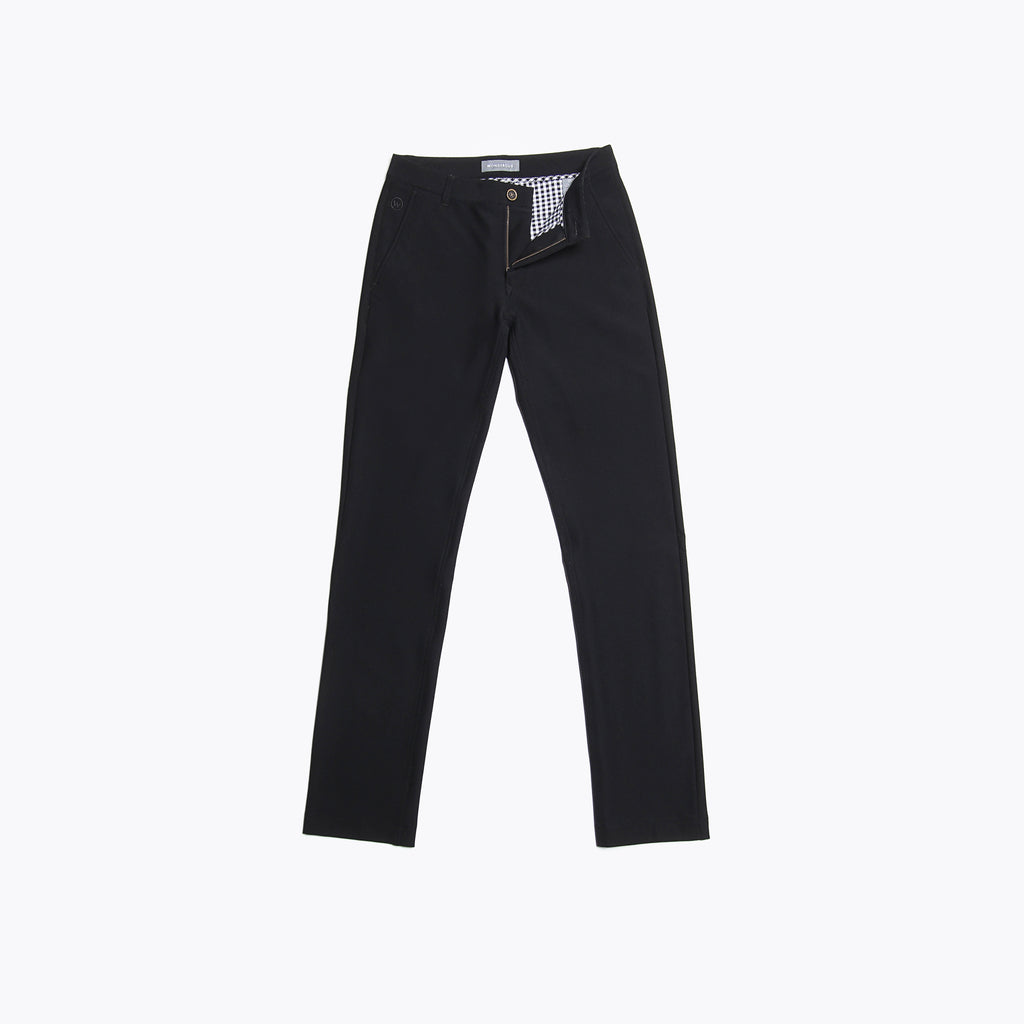 Midnight Black Chino Pants