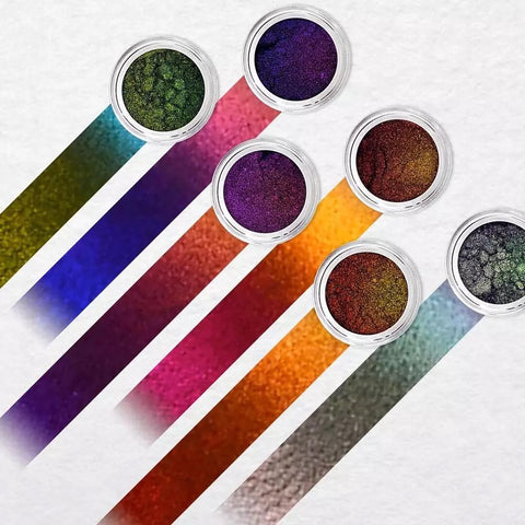 Multi chrome pigments collection