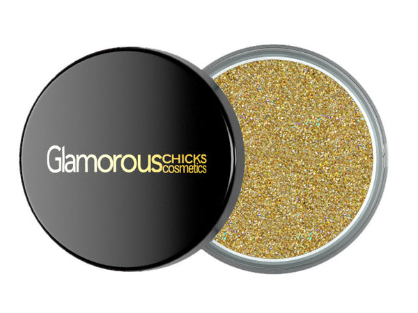 Diamond Glitter Bright Gold - Glamorous Chicks Cosmetics