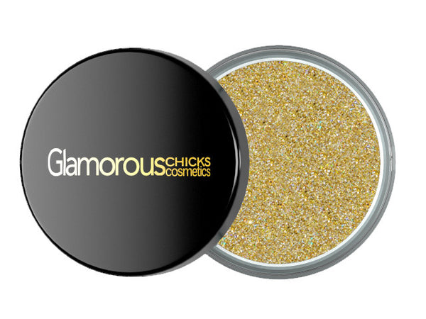 Diamond Glitter Luxury Gold - Glamorous Chicks Cosmetics