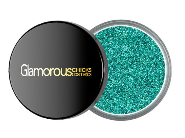 Diamond Glitter Aqua Blue - Glamorous Chicks Cosmetics