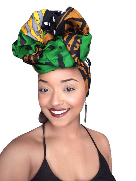 Default type -  - Zimani Headwrap - Glamorous Chicks Cosmetics - 1