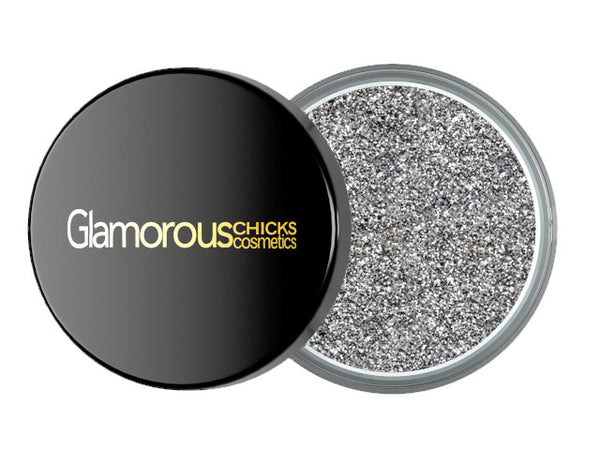 Diamond Glitter Silver - Glamorous Chicks Cosmetics