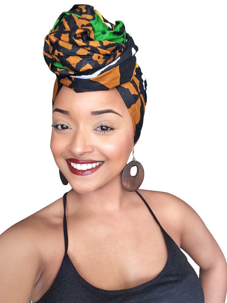Default type -  - Zimani Headwrap - Glamorous Chicks Cosmetics - 2