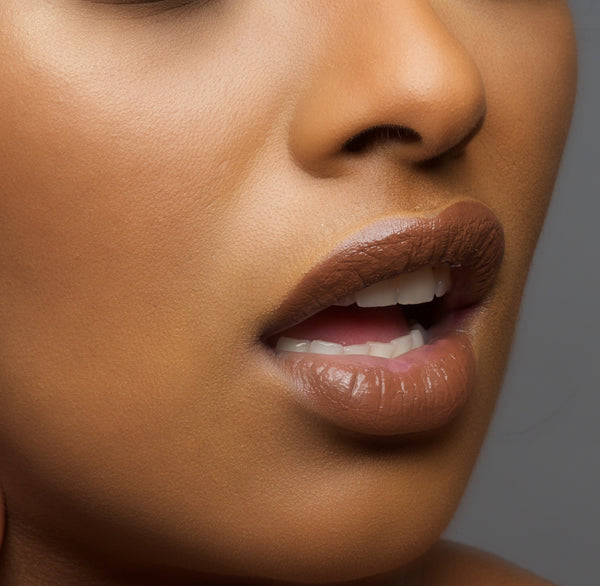 Lips -  - Chocolate Fudge   -  Water proof, Smudge proof, transfer proof,  and 24 hour stay Chocolate Brown Matte Liquid lipstick - Glamorous Chicks Cosmetics - 2