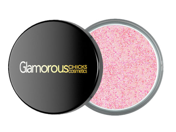 Diamond Glitter Baby Pink - Glamorous Chicks Cosmetics