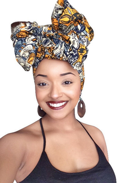 Default type -  - Belle Femme Headwrap - Glamorous Chicks Cosmetics - 2