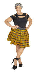 SKIN & HAIR CARE -  - Opra African Mini Skirt - Glamorous Chicks Cosmetics - 1