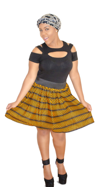 SKIN & HAIR CARE -  - Opra African Mini Skirt - Glamorous Chicks Cosmetics - 3