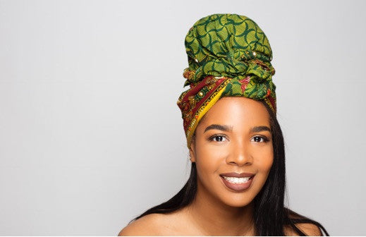 Default type -  - Green Best selling Headwrap - Glamorous Chicks Cosmetics - 1