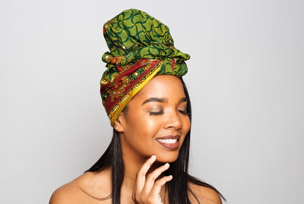 Default type -  - Green Best selling Headwrap - Glamorous Chicks Cosmetics - 2