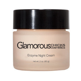 Enzyme Night Cream - Glamorous Chicks Cosmetics
