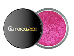 Hot Pink Eyeshadow Pigment - Glamorous Chicks Cosmetics