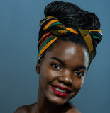 Nubian Head wrap - Glamorous Chicks Cosmetics