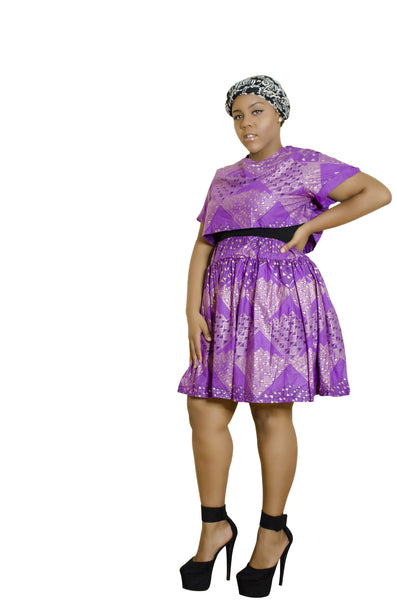 SKIN & HAIR CARE -  - African Skirt and shirt combo - Glamorous Chicks Cosmetics - 2
