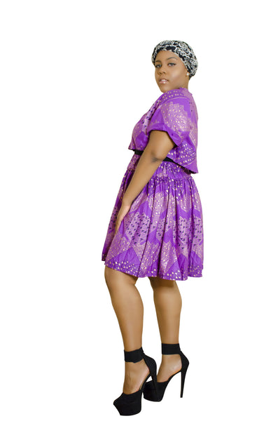 SKIN & HAIR CARE -  - African Skirt and shirt combo - Glamorous Chicks Cosmetics - 3