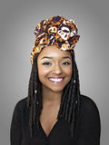 Default type -  - Queen B Headwrap - Glamorous Chicks Cosmetics - 1