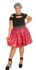 SKIN & HAIR CARE -  - Michelle African Mini Skirt - Glamorous Chicks Cosmetics - 1