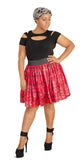 SKIN & HAIR CARE -  - Michelle African Mini Skirt - Glamorous Chicks Cosmetics - 4