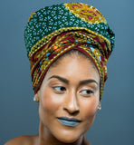 Royal Head wrap - Glamorous Chicks Cosmetics