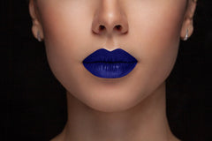 Royal Matte - Waterproof, smudge proof,  transfer proof,  and 24 hour stay BLUE Matte Liquid lipstick - Glamorous Chicks Cosmetics