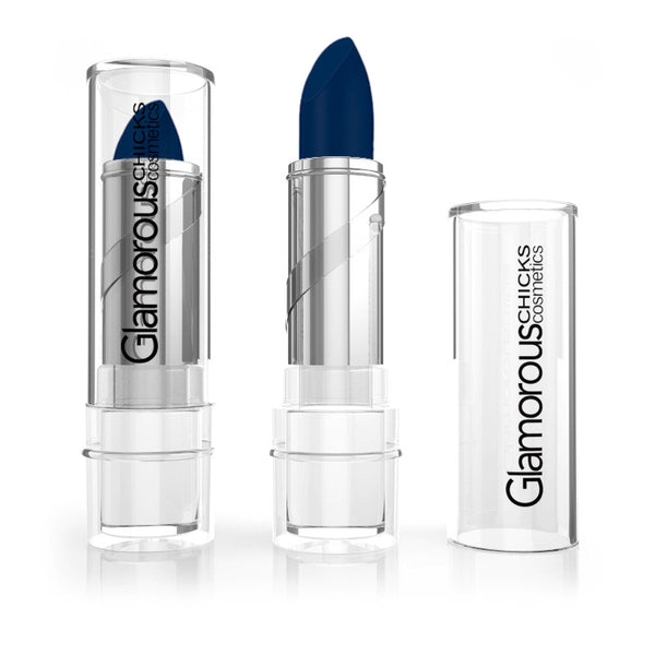 Blue Royalty Matte Blue Lipstick - Glamorous Chicks Cosmetics