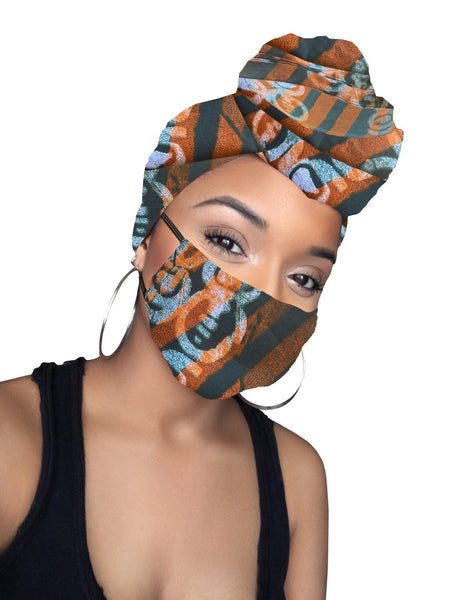 Selena Headwrap and Mask
