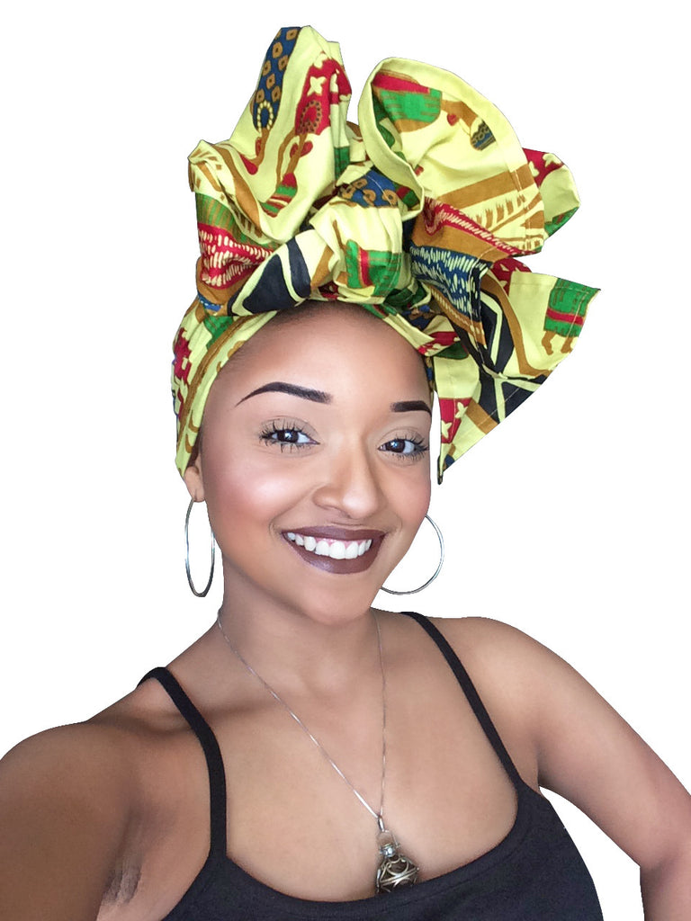 0297bf72a SKIN & HAIR CARE - - Royal Empress Head Wrap - Glamorous Chicks Cosmetics
