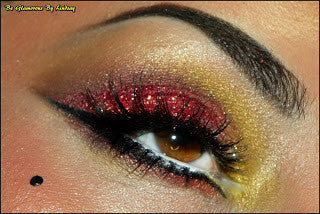 Eyes -  - Diamond Glitter Pink - Glamorous Chicks Cosmetics - 5