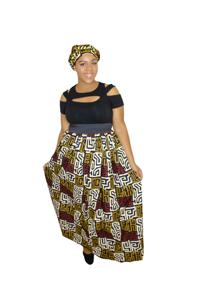 SKIN & HAIR CARE -  - Maxi African Skirt - Glamorous Chicks Cosmetics - 3