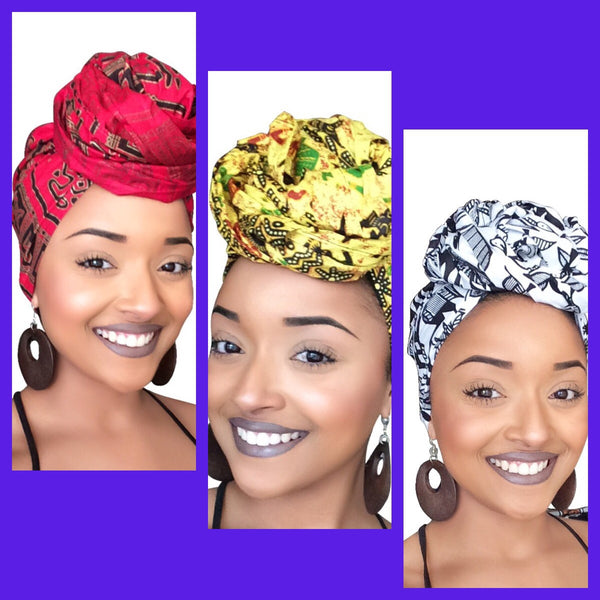 Default type -  - Corporate Diva Headwrap Collection - Glamorous Chicks Cosmetics